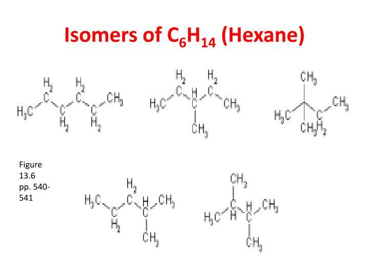 Isomers of C