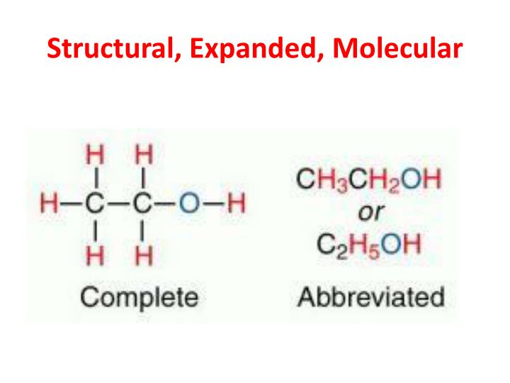 Structural, Expanded, Molecular