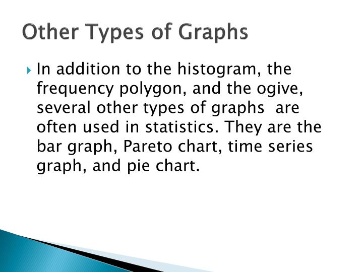 Other types of graphs1