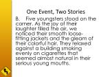 one event two stories1