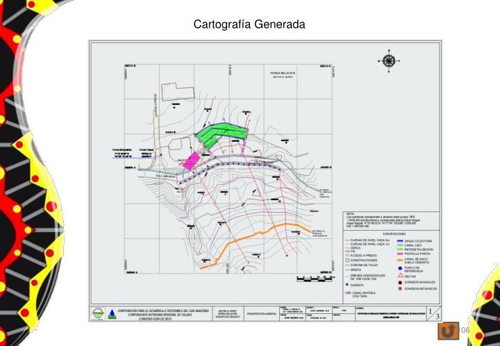Cartografía Generada