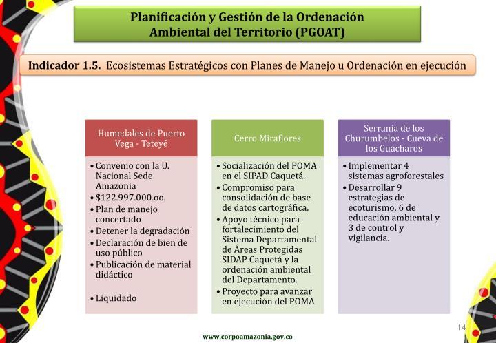 Planificación y Gestión de la Ordenación