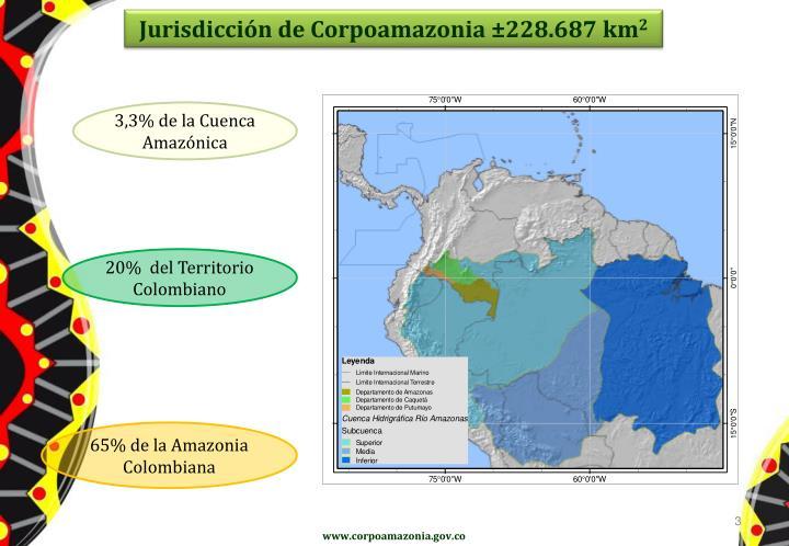 Jurisdicción de Corpoamazonia