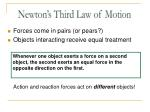 newton s third law of motion1