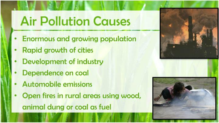 Air Pollution Causes