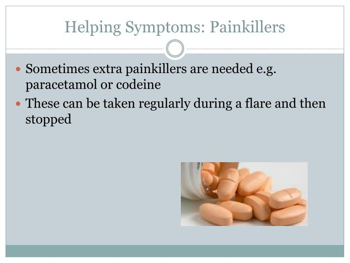 Helping Symptoms: Painkillers