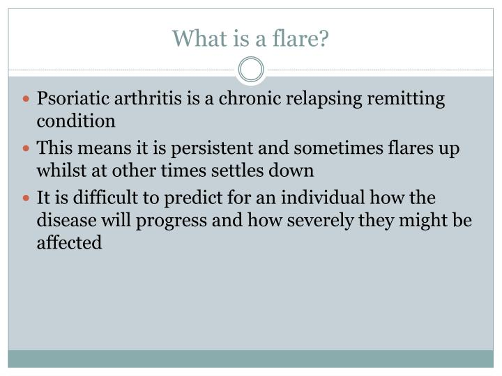 What is a flare?