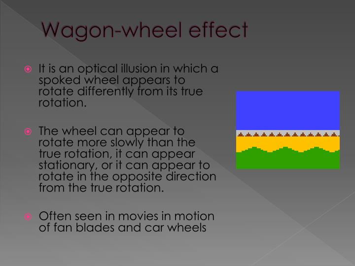 Wagon-wheel effect