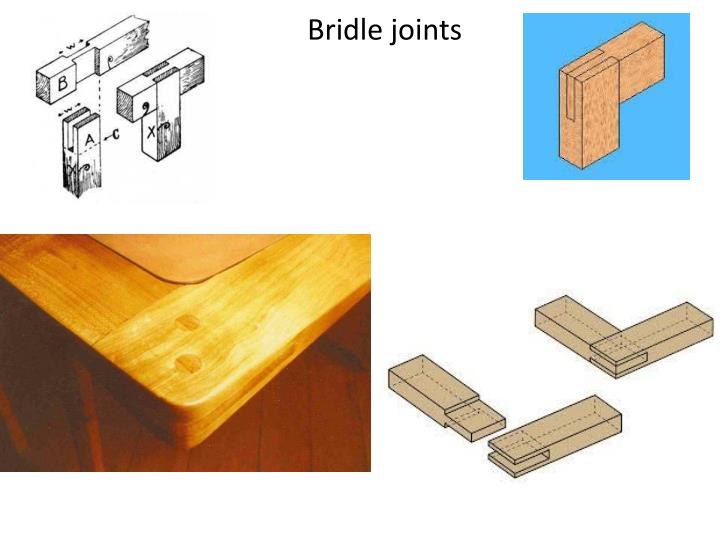 Bridle joints