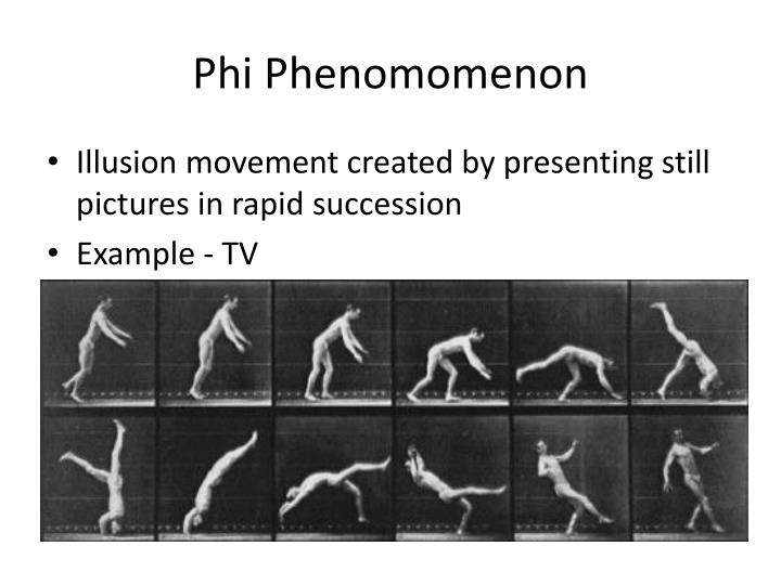 Phi Phenomomenon