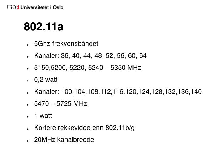 802.11a