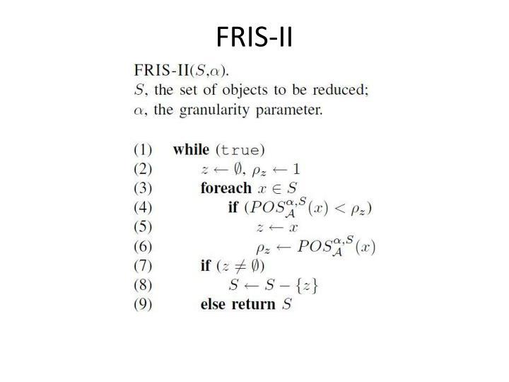 FRIS-II
