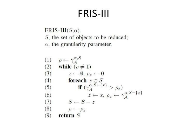 FRIS-III