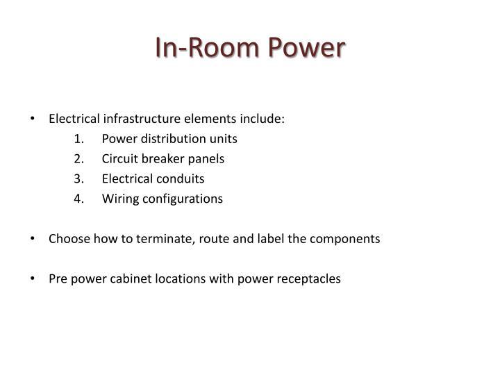 In-Room Power
