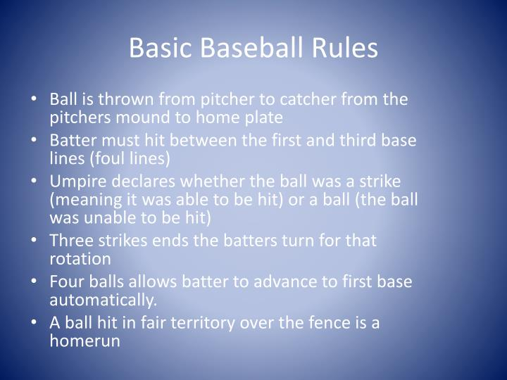 basic softball rules Isf softball rules: the basic rules of softball have similarities to baseball  but there are a few significant differences for the softer.