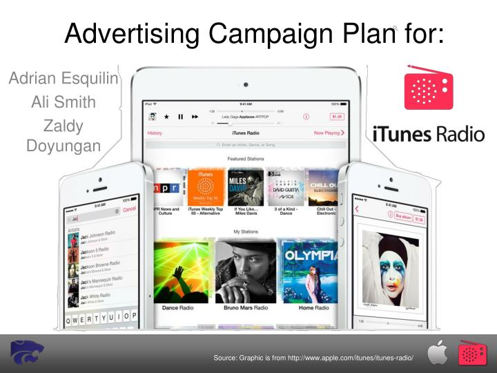 Advertising campaign plan for