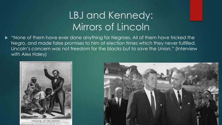 LBJ and Kennedy: