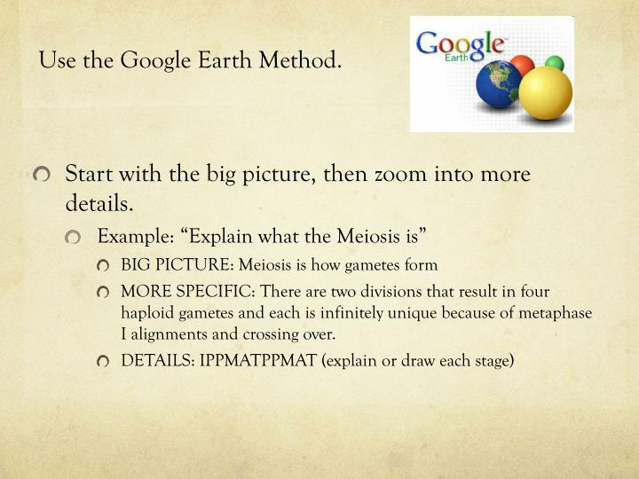 Use the Google Earth Method.