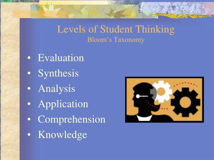 Levels of Student Thinking