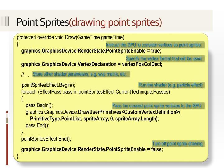 Point Sprites