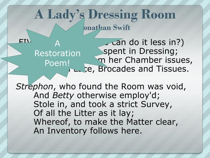 A Lady's Dressing Room
