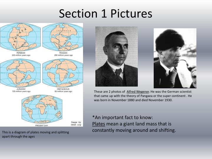 Section 1 pictures
