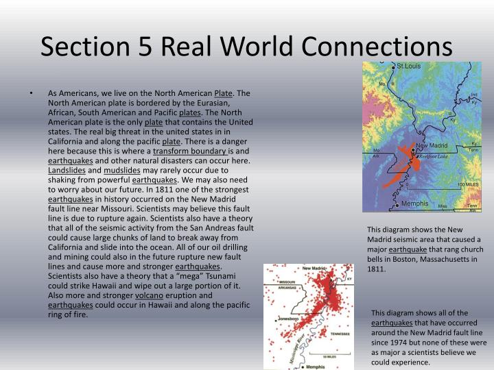 Section 5 Real World Connections