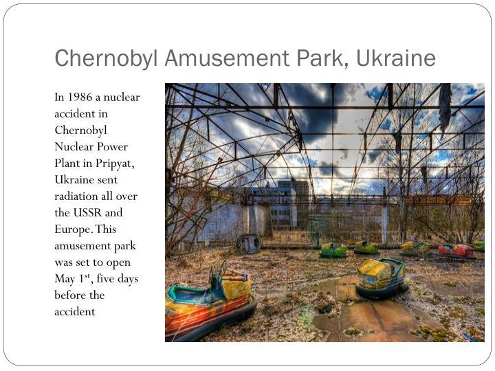 Chernobyl Amusement Park, Ukraine