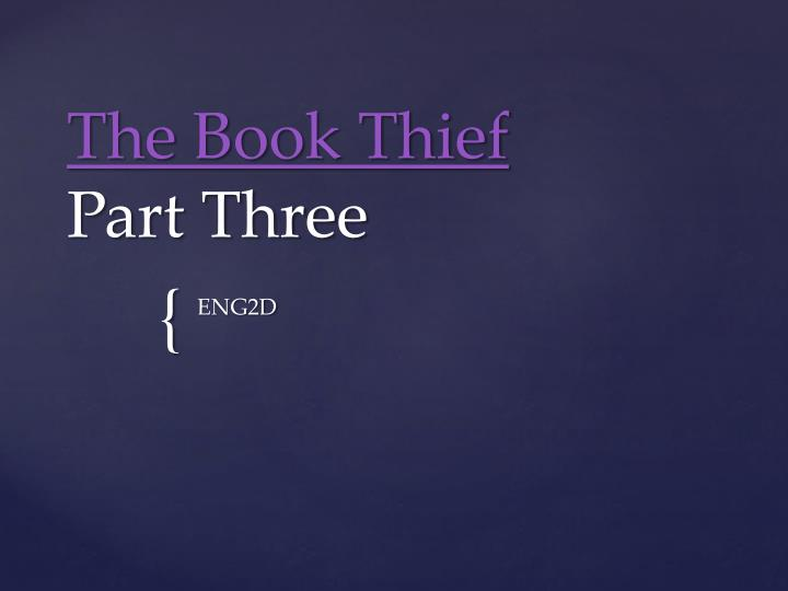 the book thief themes essay