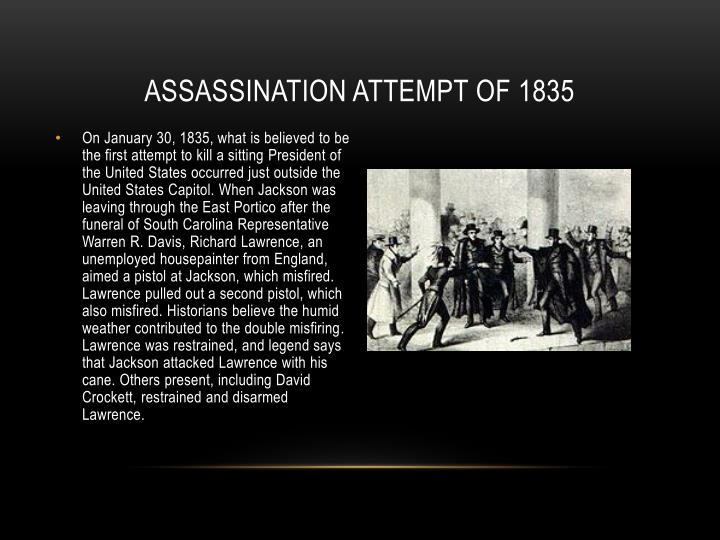 Assassination Attempt of 1835