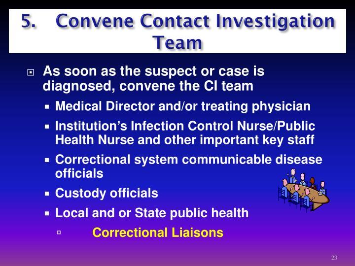 5.  Convene Contact