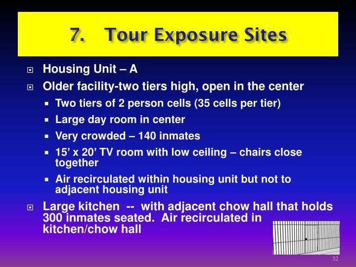 7. Tour Exposure