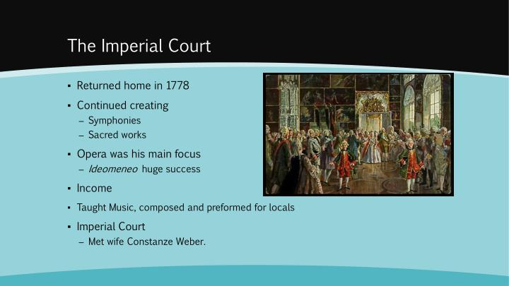The Imperial Court