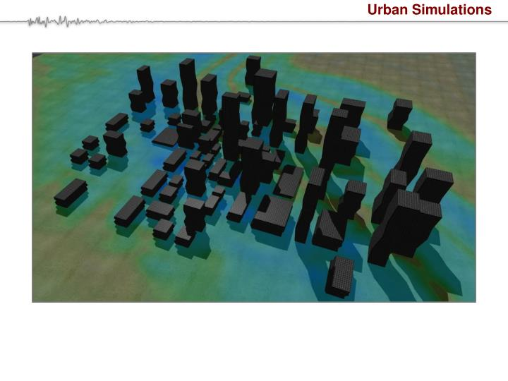 Urban Simulations