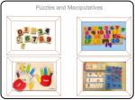 puzzles and manipulatives