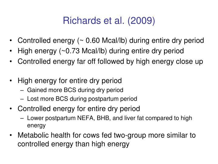 Richards et al. (2009)
