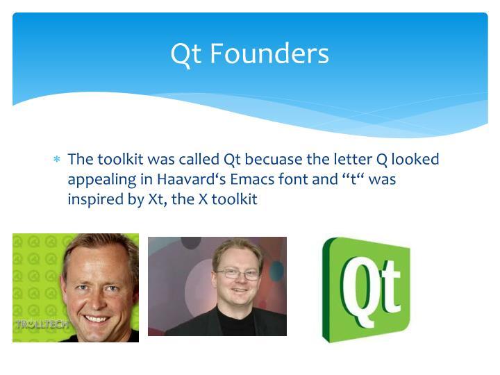 Qt Founders