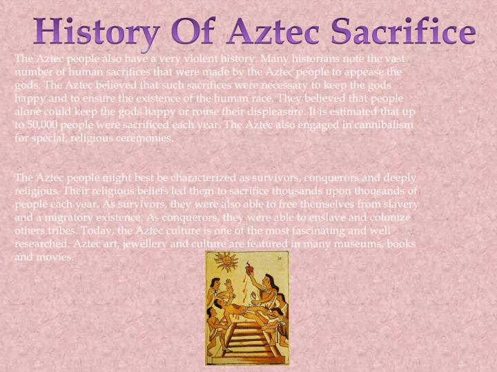 History Of Aztec Sacrifice