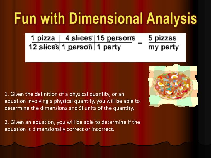 Fun with Dimensional Analysis