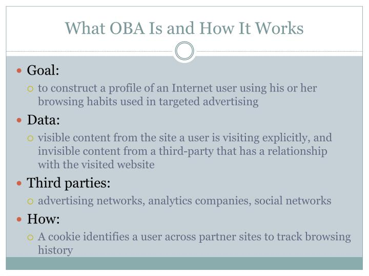 What OBA Is and How It Works