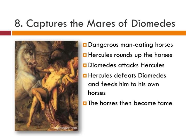8. Captures the Mares of