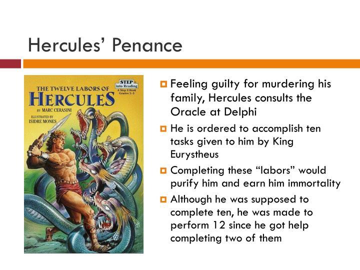 Hercules' Penance