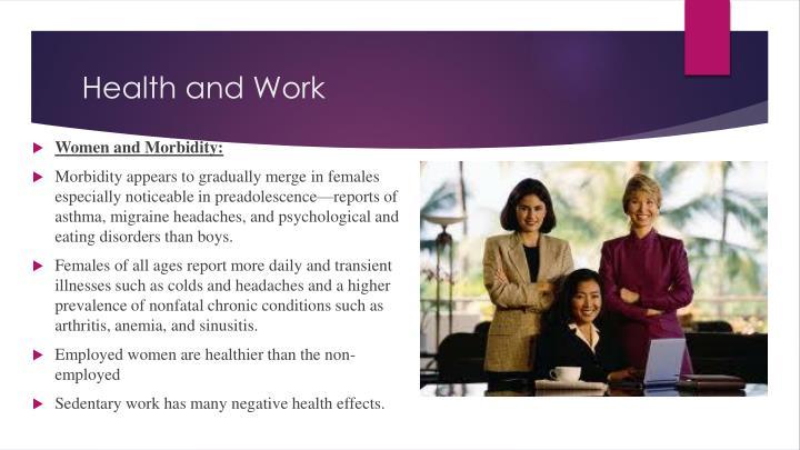 Health and Work