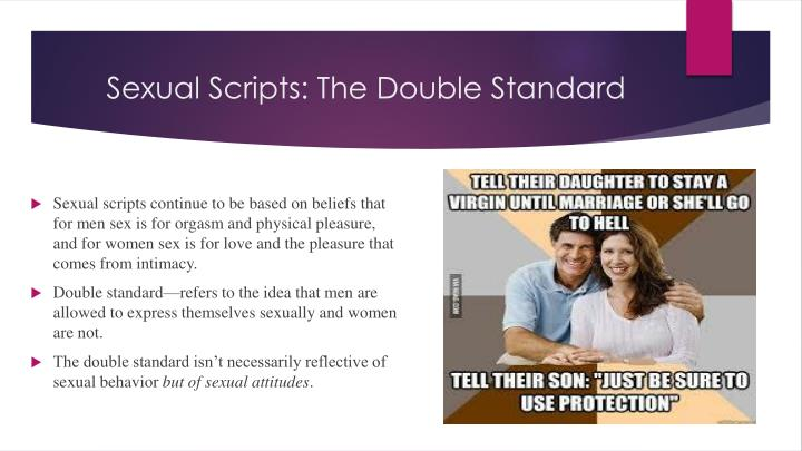 Sexual Scripts: The Double Standard