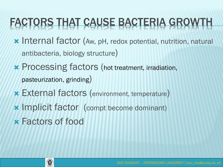 Internal factor (