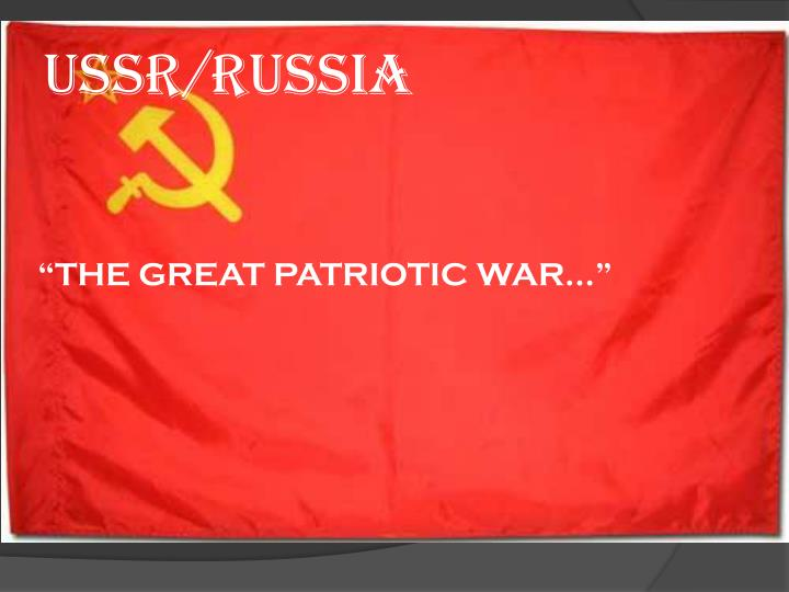 Ussr/russia