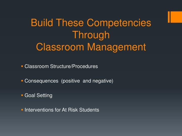 Build These Competencies