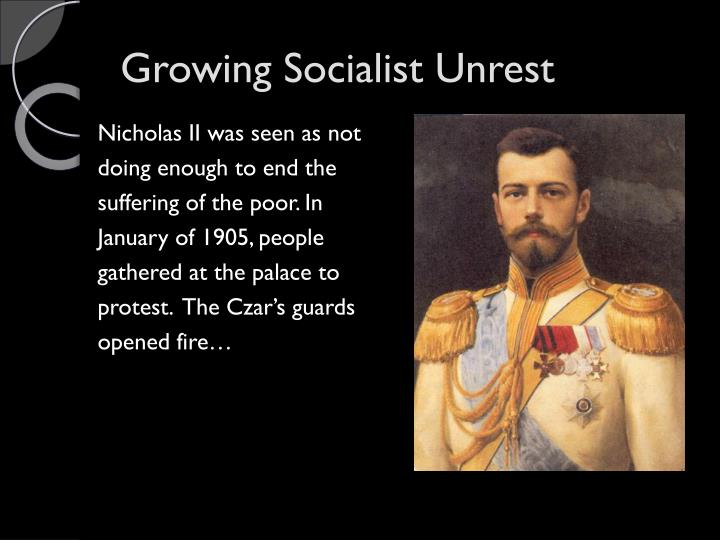 Growing Socialist Unrest