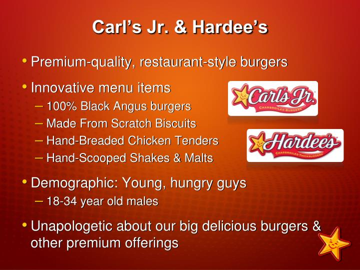 Carl s jr hardee s