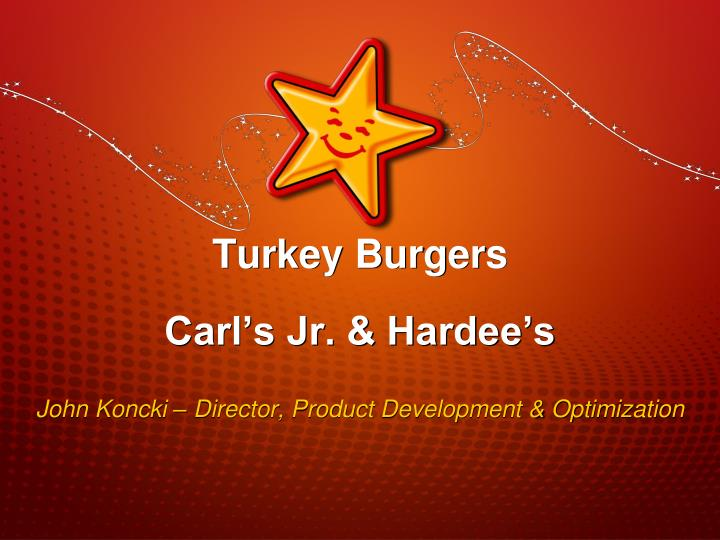 John koncki director product development optimization
